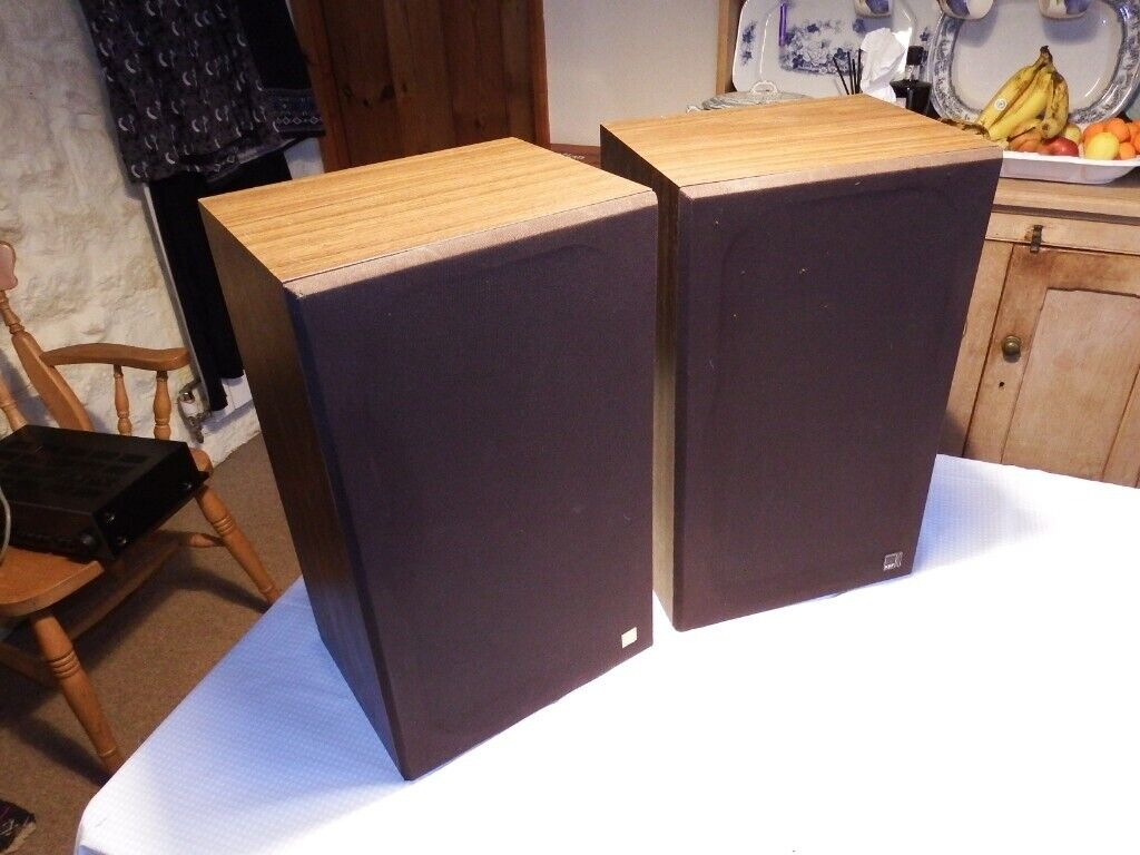 Kef Coda III Speakers Retro High quality sound from the 1980s Great condition | in Exeter, Devon | Gumtree