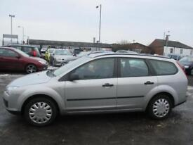 FORD FOCUS 1.8 TDCi LX 5dr [Euro 4] (silver) 2006