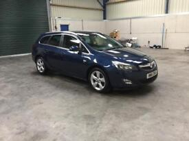 2011 Vauxhall Astra Sri estate 2.0cdti low miles guaranteed cheapest in country