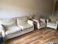 John Lewis Sofa and Arm Chairs