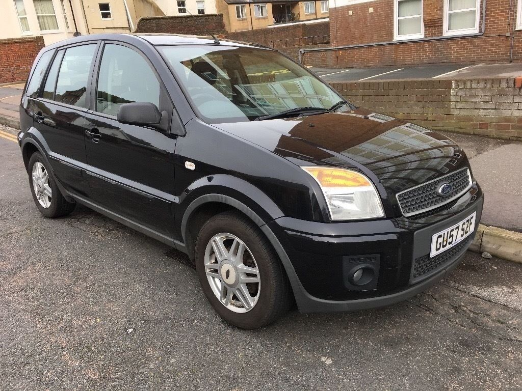 2008 ford fusion zetec climate tdci 1 4 diesel 94k mileage black 1 previous owner in. Black Bedroom Furniture Sets. Home Design Ideas