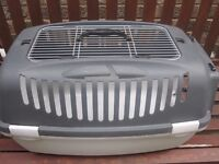 Cat carrier very good condition - large - grey bargain price of £8- Narborough, Leicestershire.
