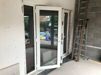 French Doors 2.45 x 2.05m with Pilkington Glass.
