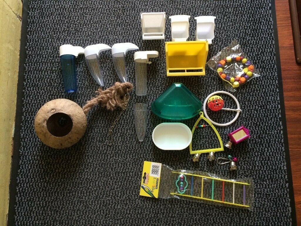 Bundle for budgies in good used + new, clean condition. Fishponds, BS16.
