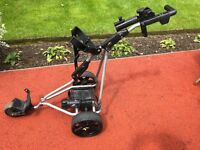 Powakaddy golf trolley 4 years old battery 9 months old