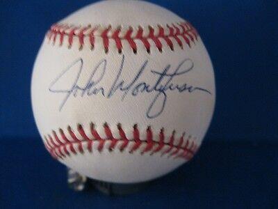John Montefusco Signed American League Ball with Personal COA
