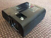 BenQ MP723 DLP Projector, 3300 ANSI, Crisp Clear View, Full Working but Dead Pixels Display.