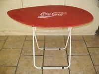 Coca Cola surfboard folding table