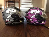 Kids snowmobile & ATV helmets
