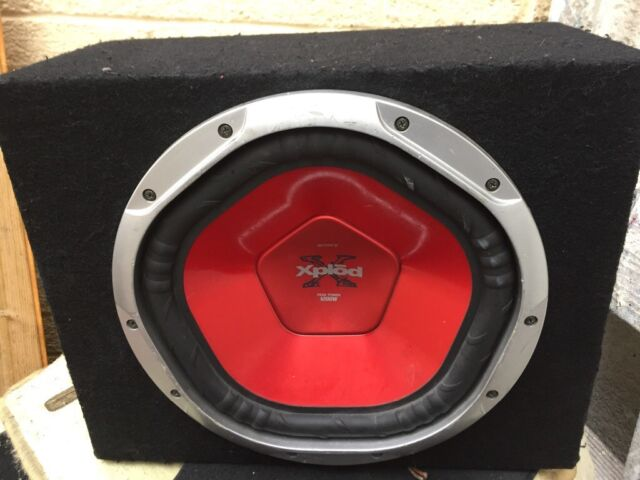 SONY XPLOD PEAK 1000 watt sub and amp built in bass box in good working  order | in Burnley, Lancashire | Gumtree