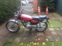 Sale 1983 honda cg125 very good condition reliable classic bike mot