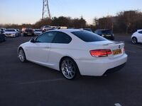BMW 320D M Sport Highline Coupe in White