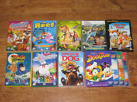 Cartoon Bundle of Kids DVD's - Includes Scooby Doo & Duck Tales - over 25 hours of cartoons!