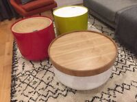 Set of 3 coffee and side tables from Habitat