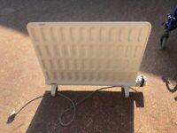 White Dimplex oil filled radiator