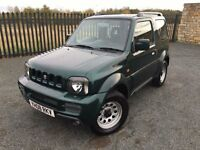2008 08 SUZUKI JIMNY 1.3 JLX 3 DOOR 4x4 - ONLY 1 FORMER KEEPER - MARCH 2017 MOT - SUPERB EXAMPLE!