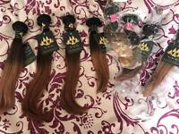 "Brazilian Ombre Hair Extensions 12""12""12"""