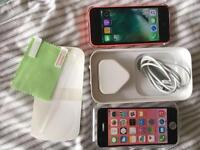 iPhone 5C Unlocked Pink Excellent condition boxed