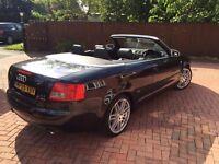 Audi A4 Cabriolet 2.4 V6 Sport S Line Black 2005