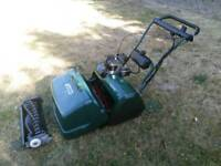 "ATCO Balmoral 20SE 20"" cylender mower serviced electric start self drive scarifier lawn mower"