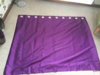 Pair of Purple Curtains