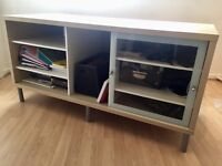 TV/Media Centre Stand/Cabinet - IKEA - 1.3 metres long 59.5 cm wide. 65cm high