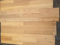 Used Oak Top Layer Engineered Flooring Tongue & Groove Approx 18 Sq Metres