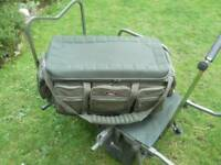 Hard core fishing bag solid hard bottom and eva top can be used as a table