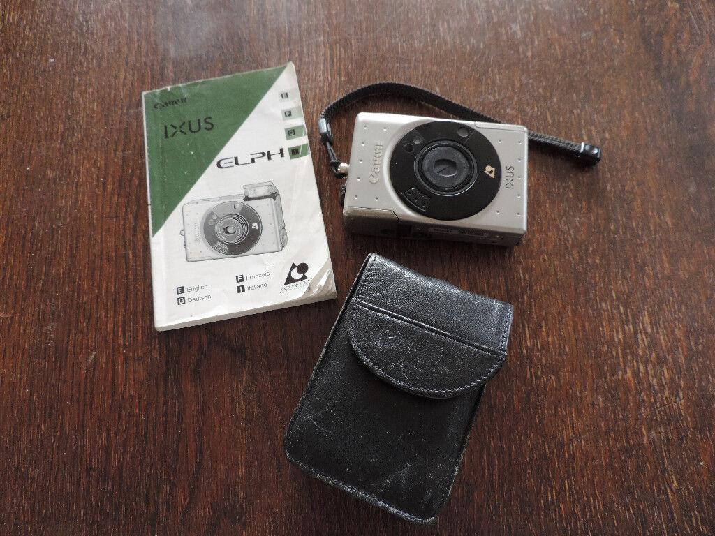 A Vintage Canon IXUS ELPH -1990's APS Retro