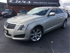 2014 Cadillac ATS 2 L Turbo | AWD | 54,493 KM | ROOF | CAMERA ..