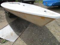 laser dinghy hull