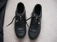 Pair of Black Sondico Football Boots size 10 1/2