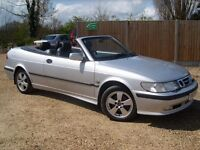 2001 SAAB 9-3 se CONVERTIBLE * ELECTRIC ROOF * LEATHER SEATS *DRIVES ABSOLUTELY PERFECT* MOT MAY 17