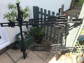 Halfords roof rack and bike carrier