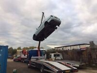 scrap sell my car van vehicle esher camberley wimbledon hampton thames ditton egham