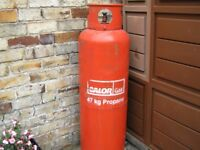 Calor Propane Gas Bottle 47kg Full.