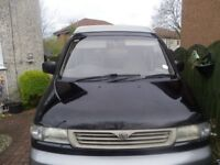 mazda bongo for sale great runner full conversion with pull out bed it has 4seat belts