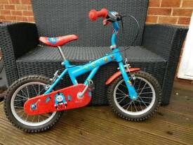 Boys Thomas the tank bike 3-5 years
