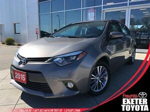 2015 Toyota Corolla LE Upgrade Package - Moonroof & Alloys