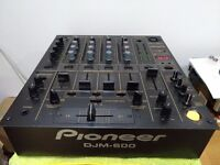 Pioneer DJM 600 NEW CONDITION SPOTLESS