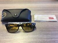 Rayban Men's polarised tortoise shell sunglasses
