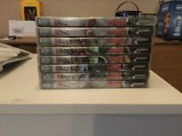 Thunderbirds DVDs. 8 in total