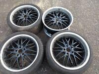Mercedes Full Alloy Wheels Set 19 icnch