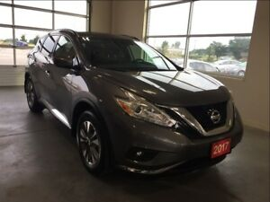 2017 Nissan Murano SV AWD Heated Seats, Heated Steering Wheel..