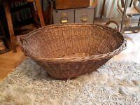 Vintage Wicker / Log Basket