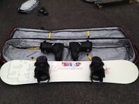 Salomon/Burton/32 - Snowboard package and boots