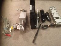 Fully working Nintendo wii with 8 games
