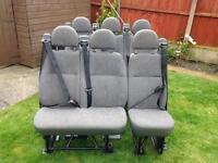 Ford Transit mini bus seats