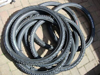 26 inch mountain bike tyres tires, all in good condition