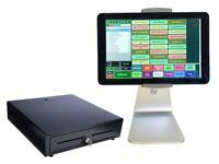 10 inch EPOS Terminal Bundle + One Year Manufacturers Warranty (Restaurant & Takeaway Dessert Shop)